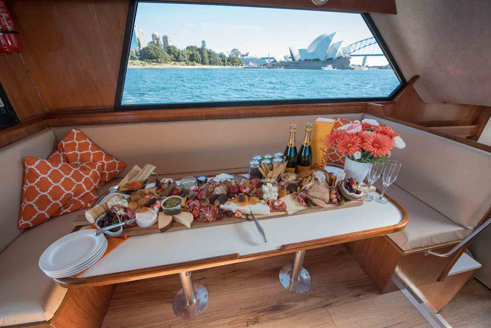 Grazing table cruise
