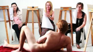 life drawing hens party