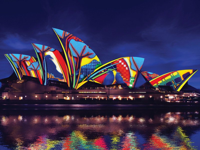 vivid sydney autumn hens party ideas