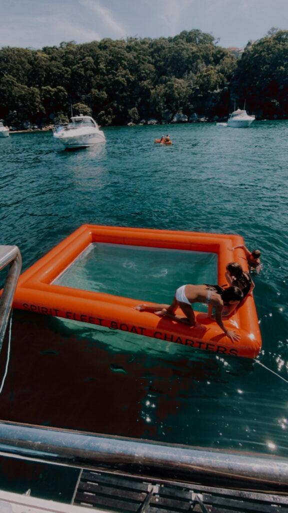 inflatable pool Spirit Fleet