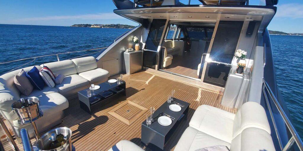 Prometheus boat Sydney