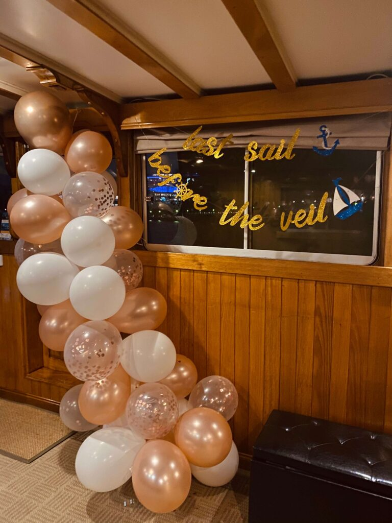 Balloon decorations Hens party