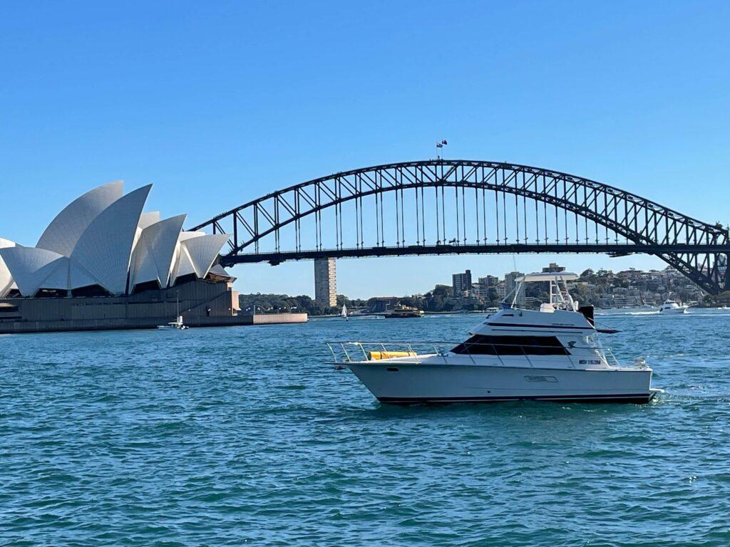 Cavok Hens Boat Hire Sydney