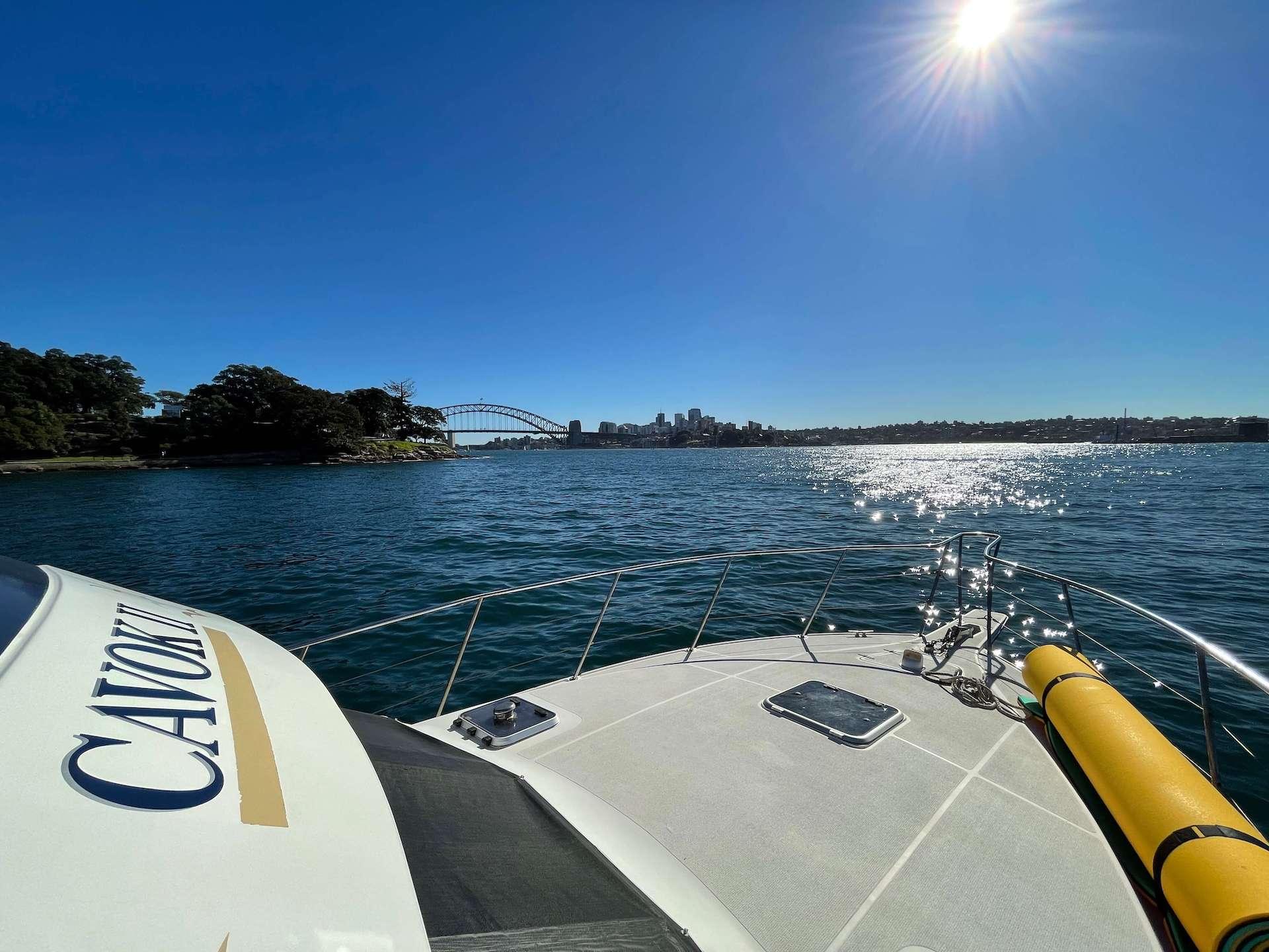 Cavok II Hens Boat Hire Sydney